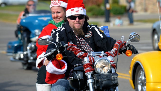 The 24th annual Rolling Thunder Toy Run will be held Sunday.