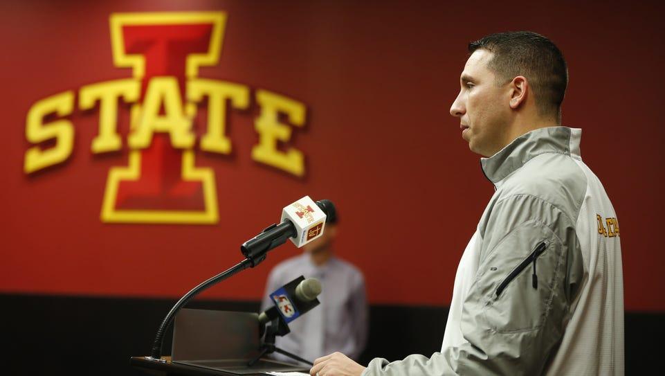ISU football coach Matt Campbell speaks about the Cyclones'