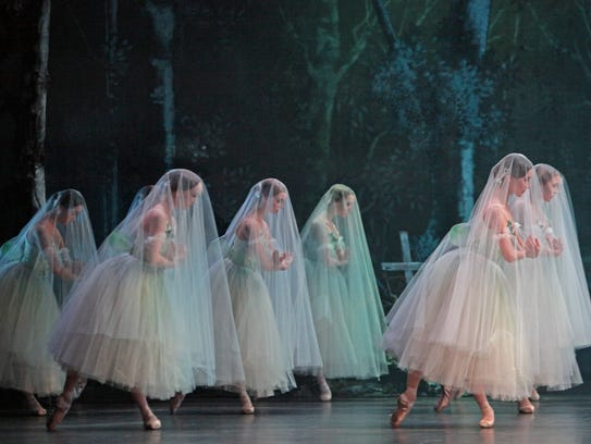 "Houston Ballet's production of ""Giselle"""