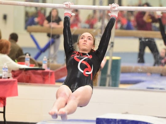 Mikaela Hille performed extremely well during Tuesday's