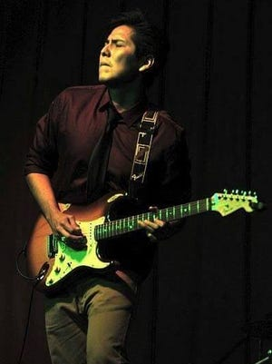 Levi Platero and his band perform this weekend at Crash Music at the Aztec Theater.