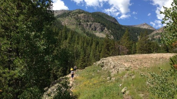 Enroute to Oh Be Joyful, near Crested Butte, Colorado