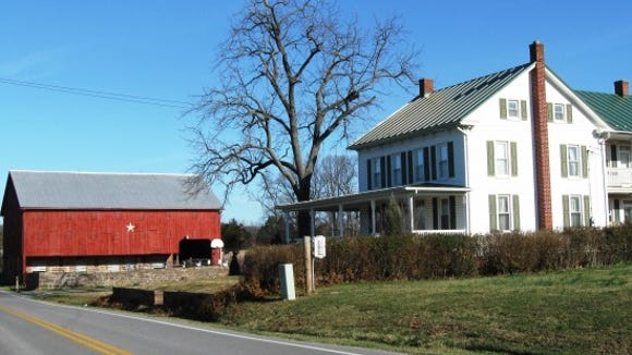 A Civil War period farm near the intersection of Bull Road and Butter Road in Dover Township. Scott Mingus photo.