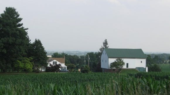 The old Deas farm in Dover Township in west-central York County. Scott Mingus photo.