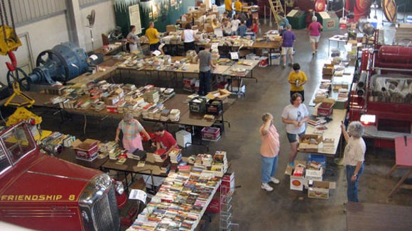 Just starting to sort at a previous Book Blast