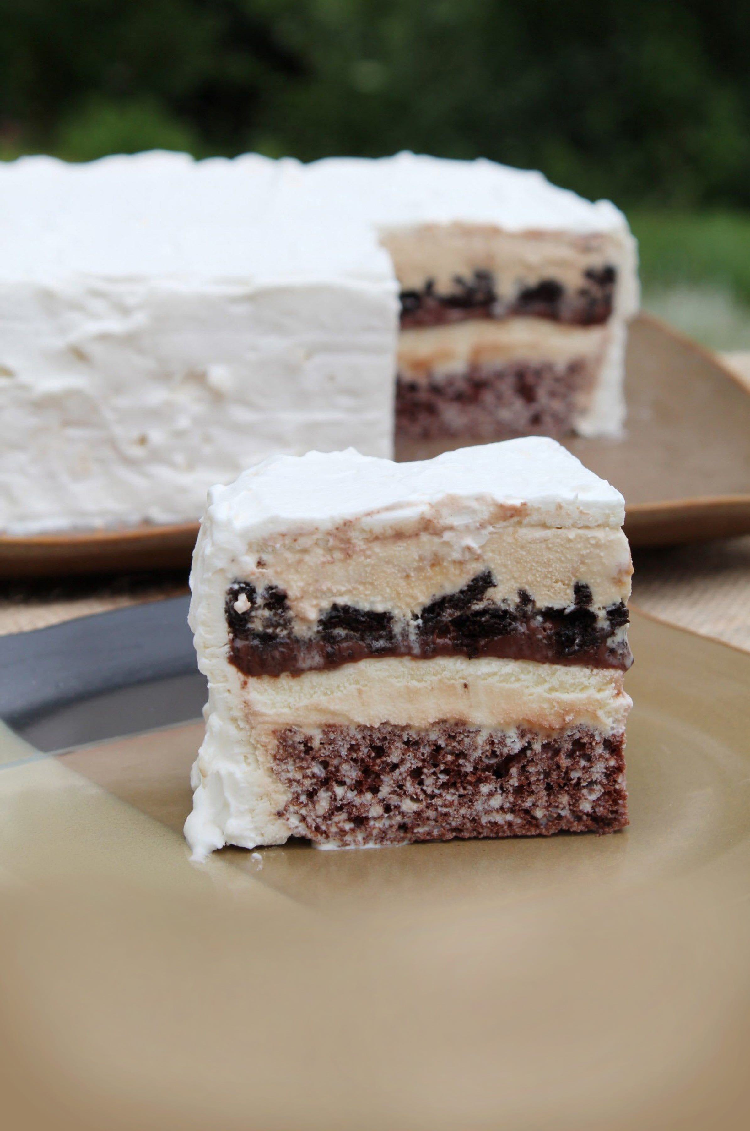 How to make a frozen cake at home