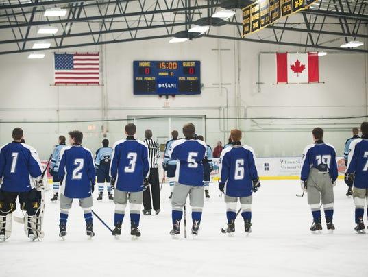 U-32 vs. Mount Mansfield Boys Hockey 02/13/16