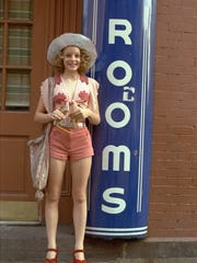 """Iris (Jodie Foster) is a 12-year-old prostitute in """"Taxi Driver"""" (1976). Martin Scorsese directs."""