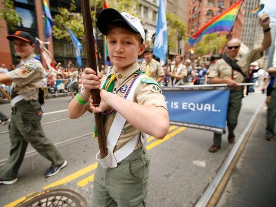 AP GAY PRIDE PARADE SAN FRANCISCO A USA CA