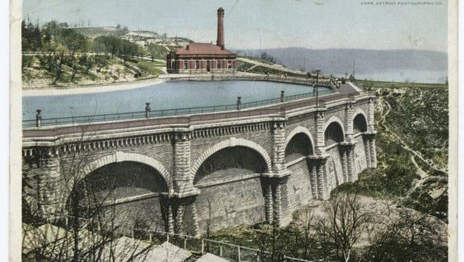 The Miriam and Ira D. Wallach Division of Art: Reservoir, Eden Park, Cincinnati, Ohio. Detroit Publishing Company postcards. Estimated dates: 1898-1931.