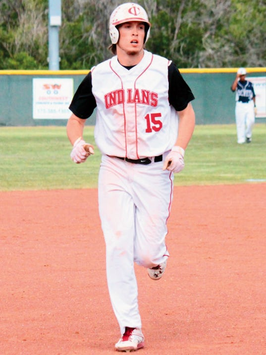 Danny Udero/Sun-News   Jordan Benfield is one of three Cobre High baseball players that will see action during the North vs. South All-Star Games.