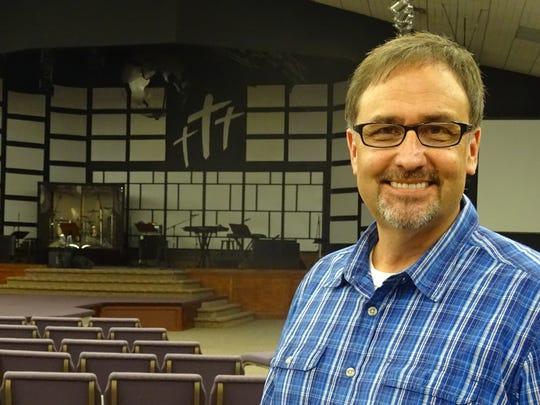 Mark Pfeifer, pastor of Open Door, has been at the