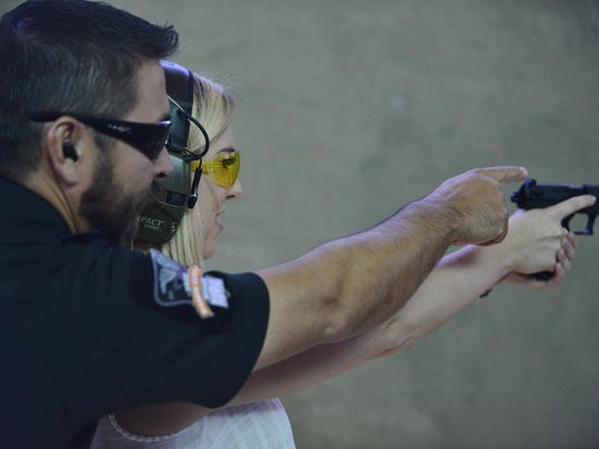 Women's safety is a top concern as rumors fly about Valley women being abducted, killed and raped. Most of the rumors are unfounded, but self-defense is a hot topic. Scott James II teaches firearms classes to help women.