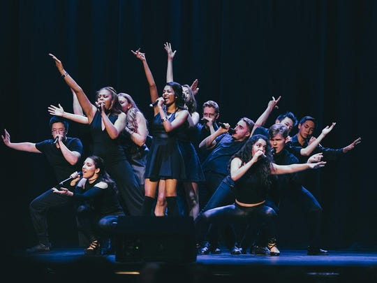 Varsity Vocals features nine high school a cappella