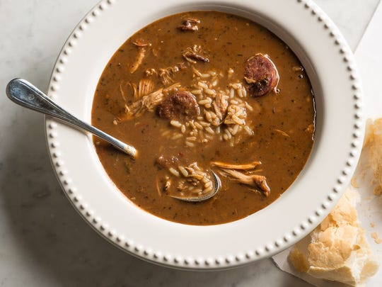 Gumbo from Mr B's Bistro earned the No. 6 place in USA TODAY's poll of readers.