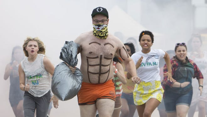 "Mac (Seth Rogen) is on the run in ""Neighbors 2: Sorority Rising."""
