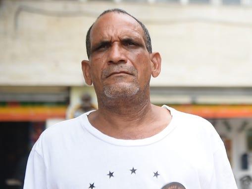 Thomas Mouese, de 58 años, un guía turístico de toda la vida, que nació y se crió en la República Dominicana dijo que un boicot sería destruir su medio de vida. (Foto: Yamiche Alcindor, USA TODAY