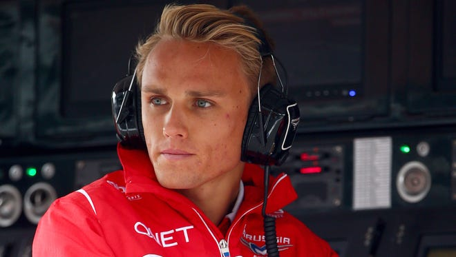 Max Chilton will race in the Belgian Grand Prix this weekend after being reinstated.