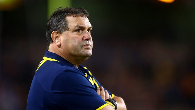 Former Michigan Wolverines football coach Brady Hoke.