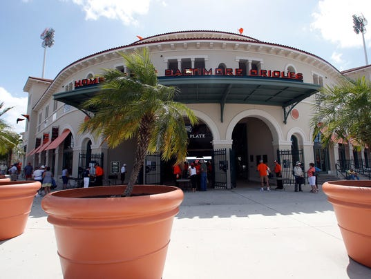 MLB: Spring Training-New York Yankees at Baltimore Orioles