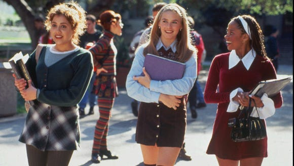From left, Tai (Brittany Murphy), Cher (Alicia Silverstone)