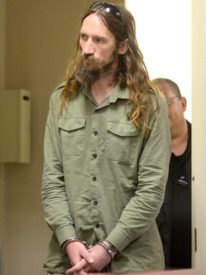 John Discola, 37, with addresses in Massachusetts and Connecticut, appears in Vermont Superior Court in Burlington in May 2015. He was sentenced Friday for charges related to groping incidents during the 2015 Vermont City Marathon.