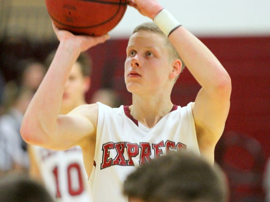 Tyler Moffe is one of the top players for the Elmira
