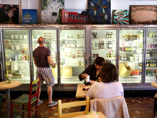 Bedrock Eats & Sweets has a Grab & Go selection at their downtown cafe and market.