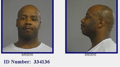 Dante Watts Sr. during one of his jail stints