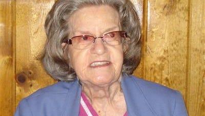 Pearl (Barbara) Annabell Trout, 91