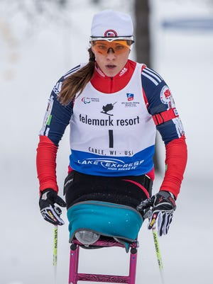Oksana Masters of Louisville, Ky., will represent the United States during the IPC Nordic Skiing World Championships. She won two medals during the 2014 Paralympic Winter Games.
