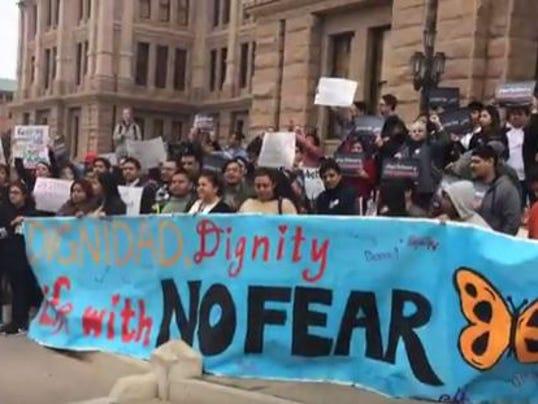 Sanctuary cities demonstration