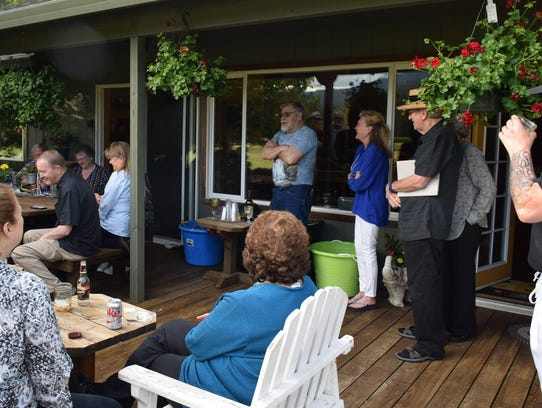 A May 2017 North Santiam Chamber of Commerce gathering