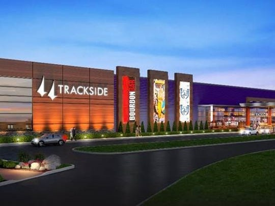 A rendering of Churchill Downs' Trackside