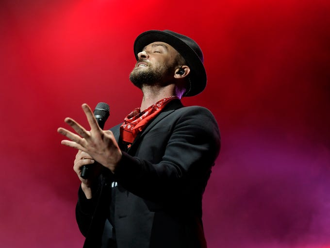 Justin Timberlake performs at Pilgrimage Music & Cultural