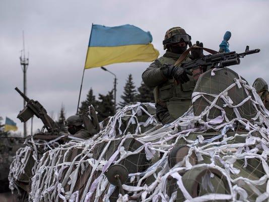 AP APTOPIX UKRAINE I UKR