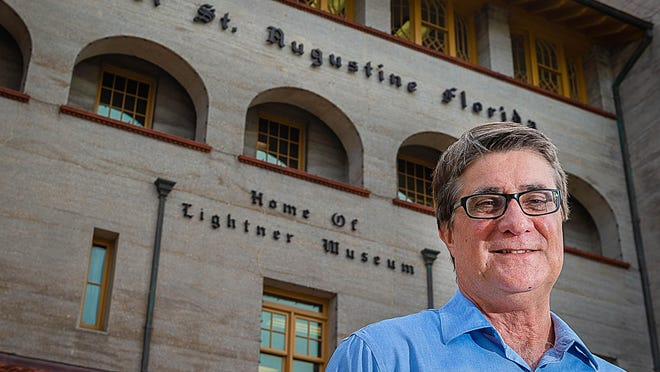 In this file photo, former Chief Resiliency Officer Mike Cullum stands in front of St. Augustine City Hall.