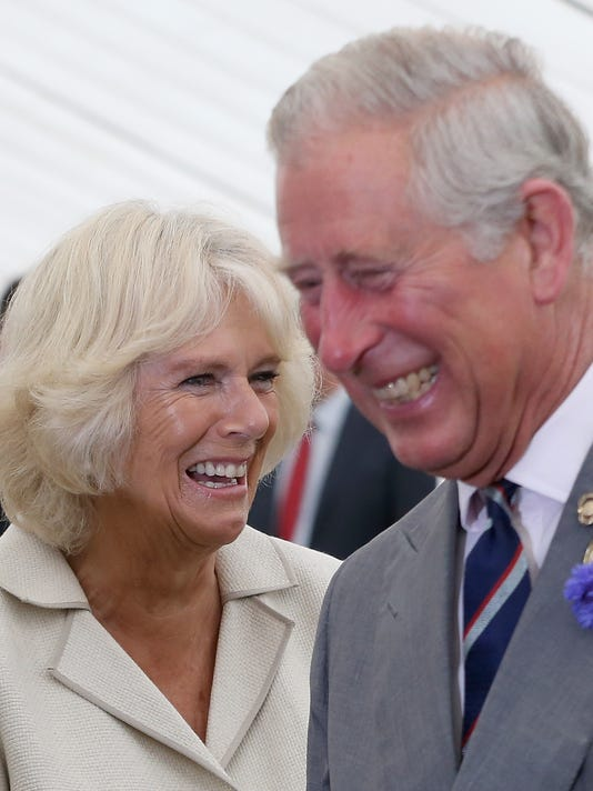 The Prince Of Wales & Duchess Of Cornwall Visit The Sandringham Flower Show