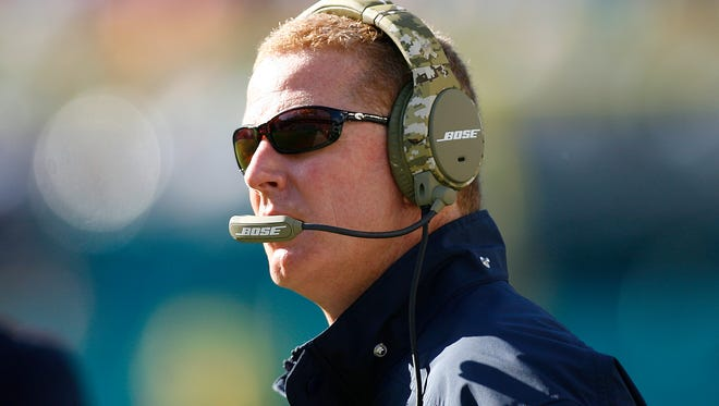 Dallas Cowboys head coach Jason Garrett won't say if the team will use its first-round pick on a quarterback.