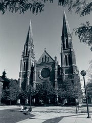 St. Anne's Catholic Church in Detroit is Michigan's oldest parish, founded in 1701.