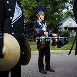 Parade rerouted for bands festival