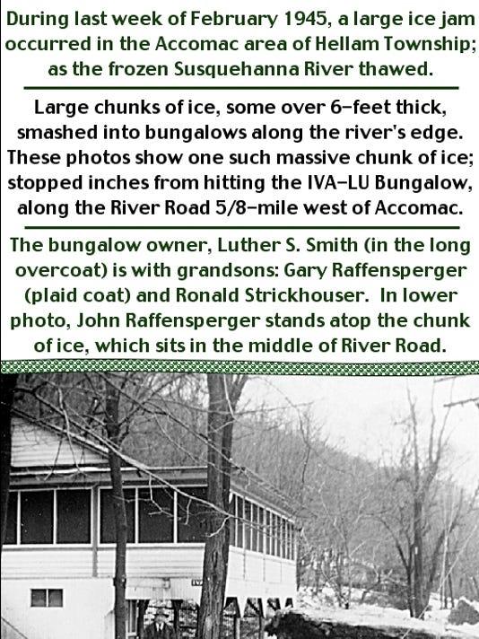 1945 ice jams