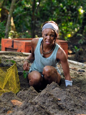 """Knoxville native Nakeisha Turk competes in an episode of Fox reality show, """"Kicking and Screaming."""""""