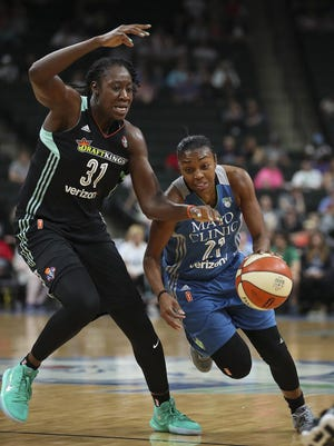 Renee Montgomery (21) chosen to put WNBA career on hold for a season to pursue social justice reform.