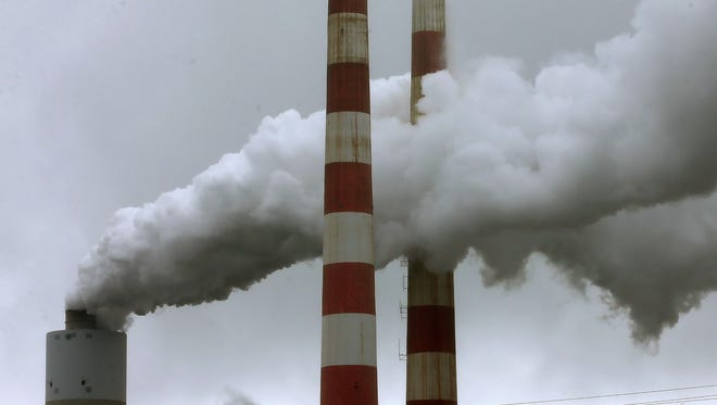The Supreme Court will consider EPA rules for coal-fired power plants such as this one in Maryland.