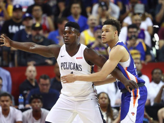 The Knicks will host Zion Williamson and the Pelicans during preseason.