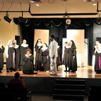 Rehearsal for Sister Act: The Musical