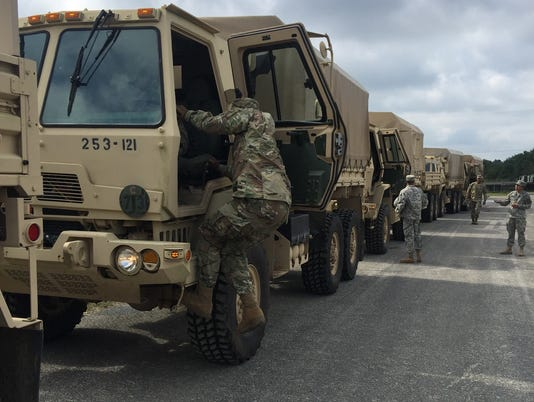 Nj National Guard Heads To Florida To Aid Rescue Efforts During Irma