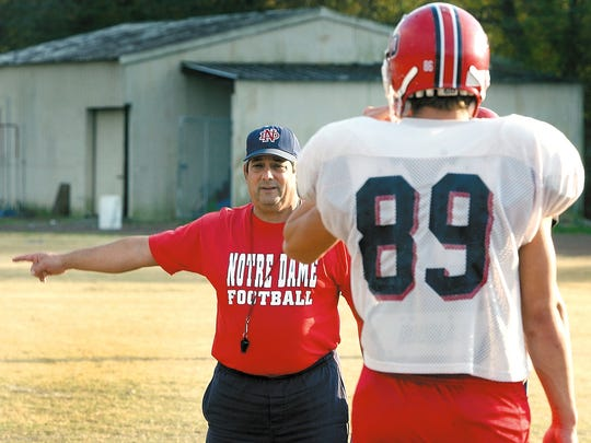 Hall of Fame coach Lewis Cook was always more known for his calm demeanor in delivering his instruction.