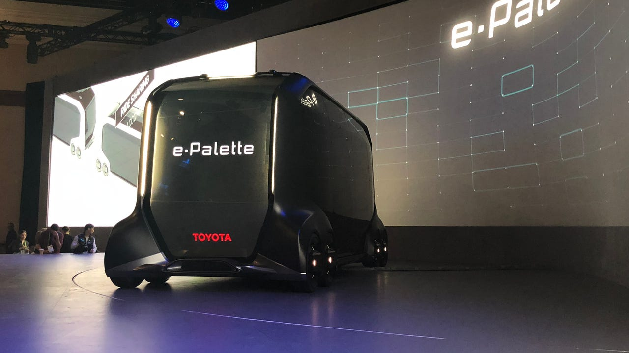 Toyota's new autonomous van can be whatever you want it to be